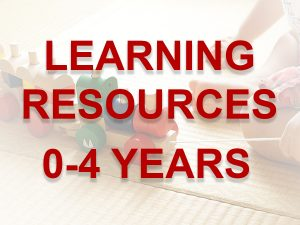 0-4 learning resources link button