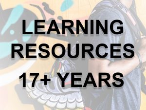 17+ learning resources link button