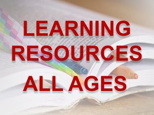ALL AGES learning resources link button