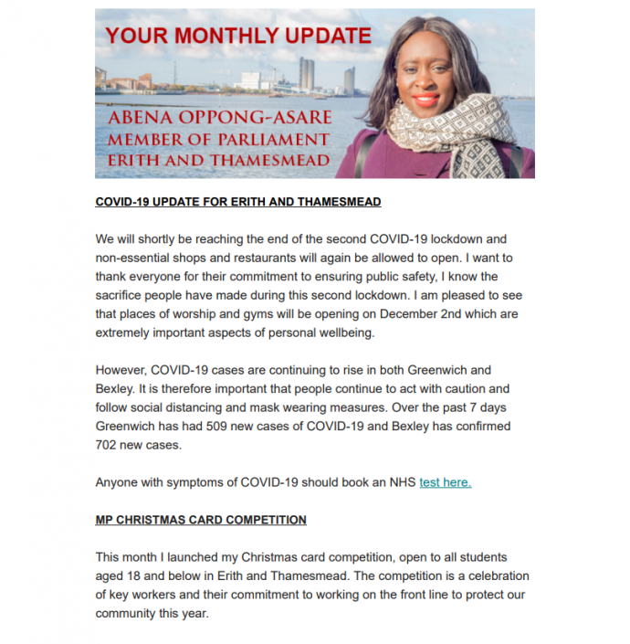 November Monthly Newsletter