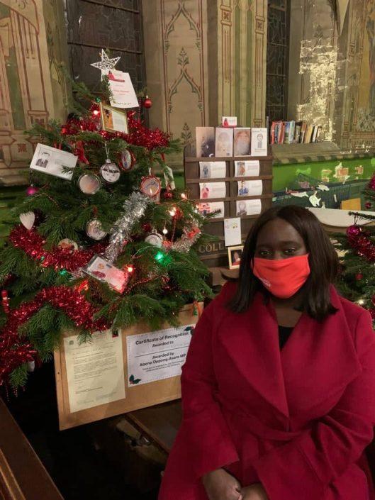 Erith Church Christmas Card Tree