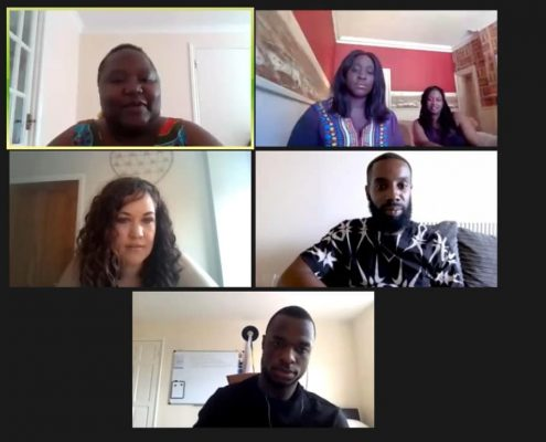 Abena and Funk Butcher in Black Lives Matter talk