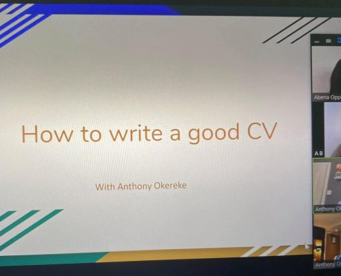 How to Write a Good CV event with Cllrs