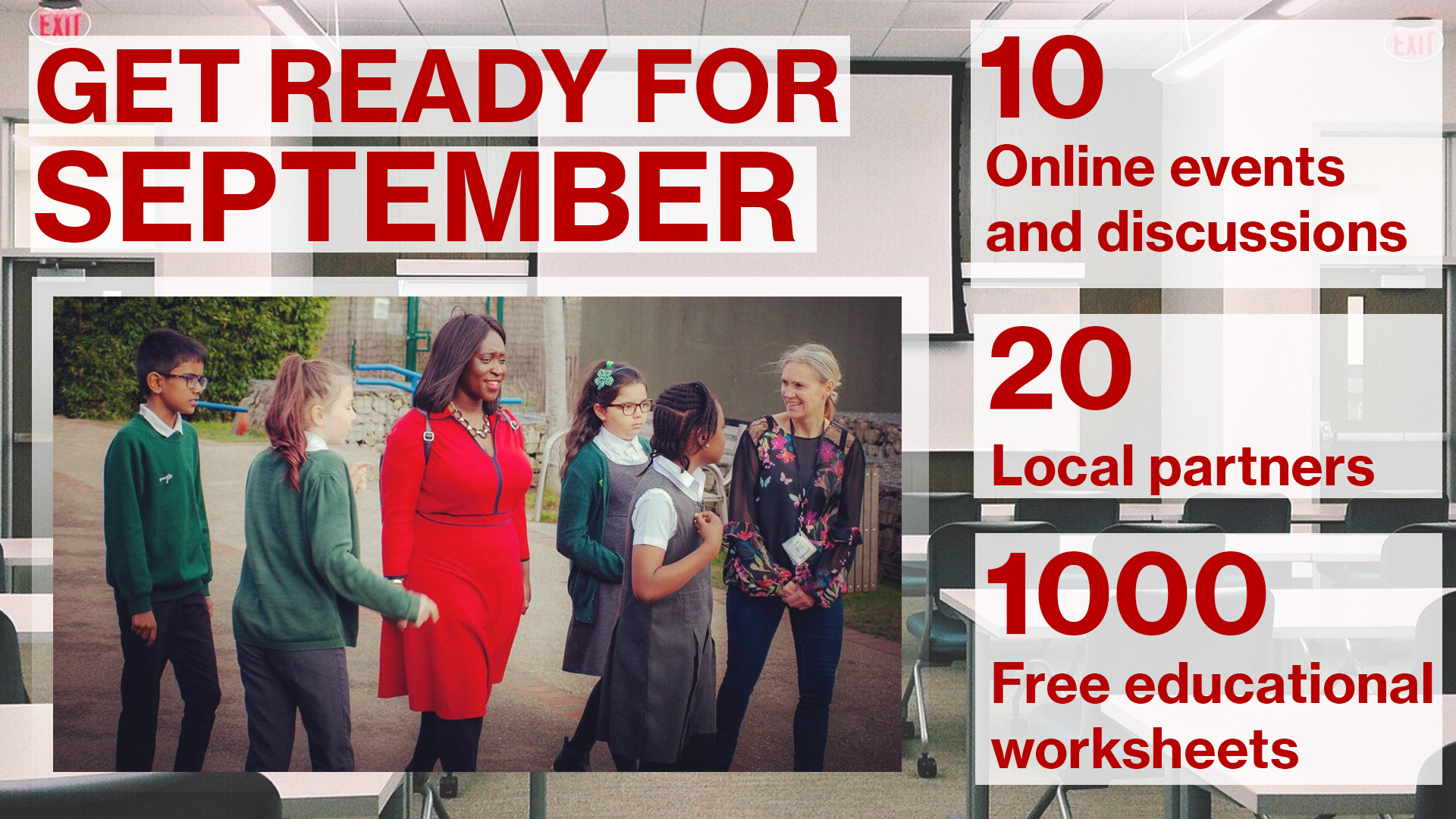 Details of get ready for september success