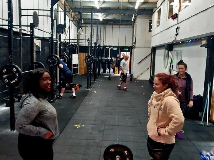 Crossfit Against the Fire Visit on Small Business Saturday