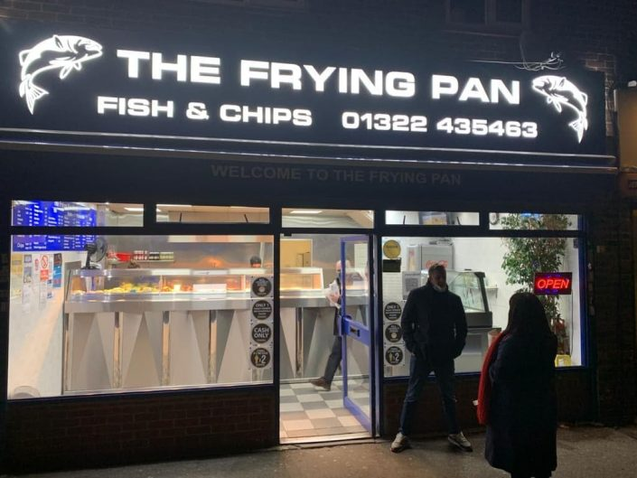 Visit to The Frying Pan on Small Business Saturday