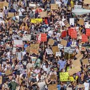 Protestors march to Delhi